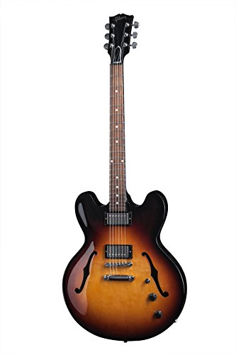 Gibson Es 335 Custom (Gibson Memphis ES-335 STUDIO ESSD15GBNH1 Semi-Hollow-Body Electric Guitar, Ginger Burst)