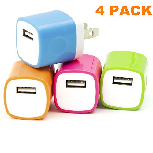 Asstar Universal USB Power Adapter Wall Charger, Easy Grip