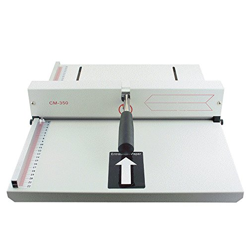 Finlon Manual Paper Creasing machine Creaser Scorer Scoring Paper Creasing Machine 350mm, A4 Card covers, High Gloss Covers by Finlon