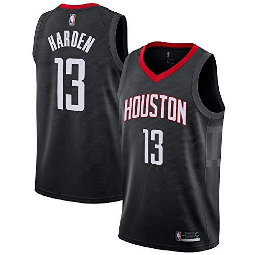 Majestic Athletic Men's James Harden #13 Houston Rockets Swingman Black Jersey (L)