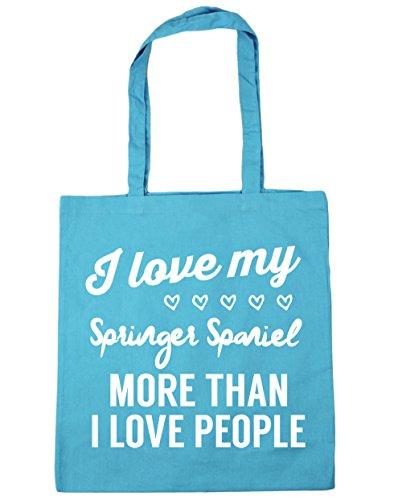 love springer Blue Tote 10 Gym litres love I Surf I Bag Beach Shopping 42cm spaniel HippoWarehouse more people x38cm my than qR87nTt