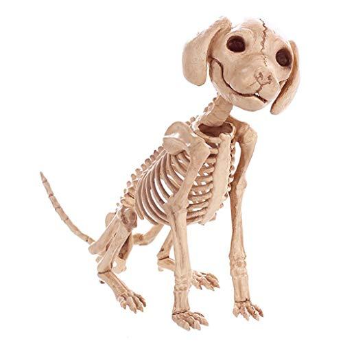 Fly Halloween Decorations Simulation Animal Skeleton Dragon Dog Cat Snake Bones Bar Movies Haunted House Props Halloween -