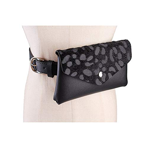 Regolabile Leggera Nero Jxth Marsupio colore Tracolla A Da Borsa Marsupi Per Donna Con Rosso Stampa Cintura HTqwPH