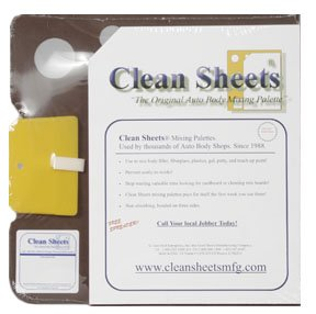 - Clean Sheets Superior Mixing Pad (12x12) - 100 Disposable Sheets For Toughest Job