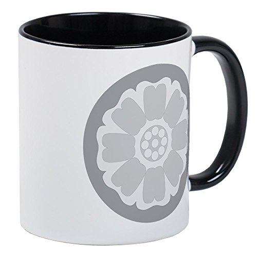 CafePress White Lotus Tile Mug Unique Coffee Mug, Coffee Cup (Avatar The Last Mug)