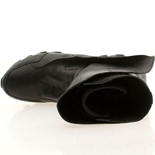 Adidas X Rick Owens Hombres Springblade Botas Altas Negro / Negro / Negro