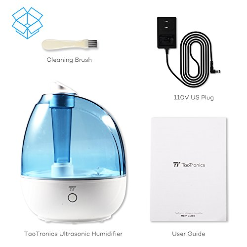 TaoTronics-Humidifier-2L-Cool-Mist-Ultrasonic-Humidifiers-for-Babies-Bedroom-Zero-Disturb-Sleep-Mode-Filter-Free-and-Whisper-Quiet-BPA-FREE-US-Plug-110V