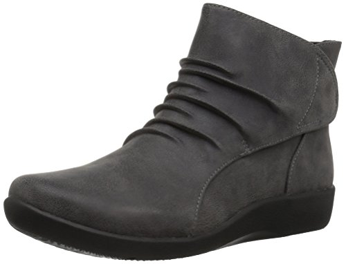 Ankle Boot Edge - CLARKS Women's Sillian Sway Ankle Bootie Grey 8 M US