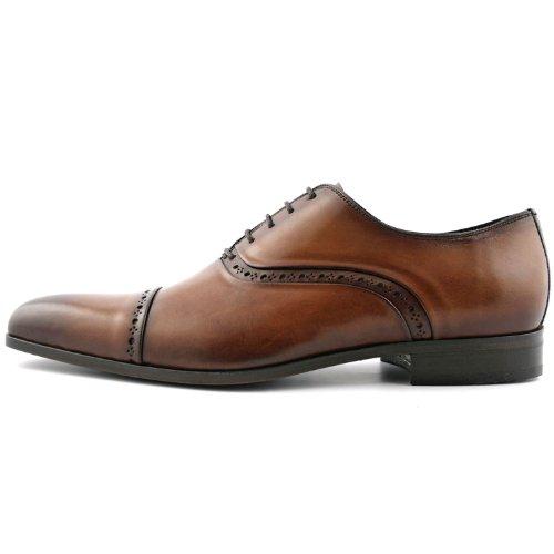 Exclusif Paris Sloane Cuir Gris, Chaussures de ville homme Cuir Gris Taille 42,5