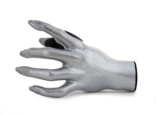 GuitarGrip Guitar Hanger-Silver Sparkle Female Hand (LHGH-143)
