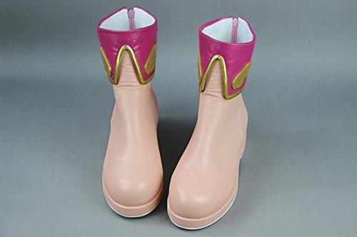 Kinomoto Cosplay Cardcaptor Women's Pink Mtxc Pink Shoes Sakura Sakura gwqX7tx