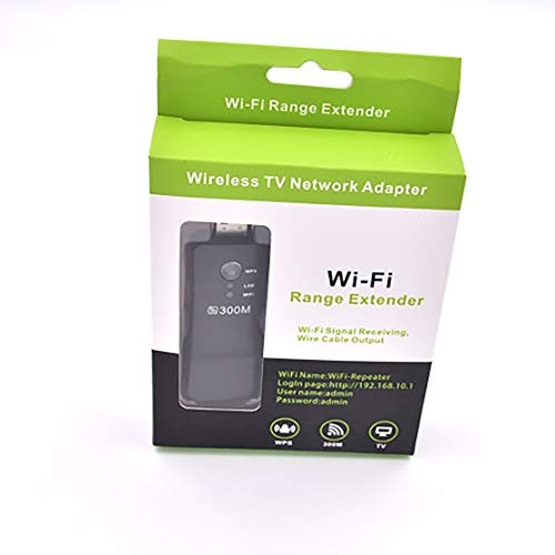 LouiseEvel215 300Mbps TV inalámbrica Adaptador WiFi Tarjeta de Red ...