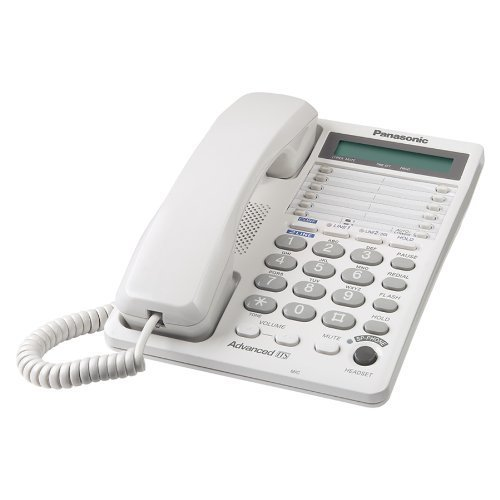 Portable, Panasonic KX-TS208W 2-Line Integrated Phone System, White Consumer Electronic Gadget Shop by Portable4All