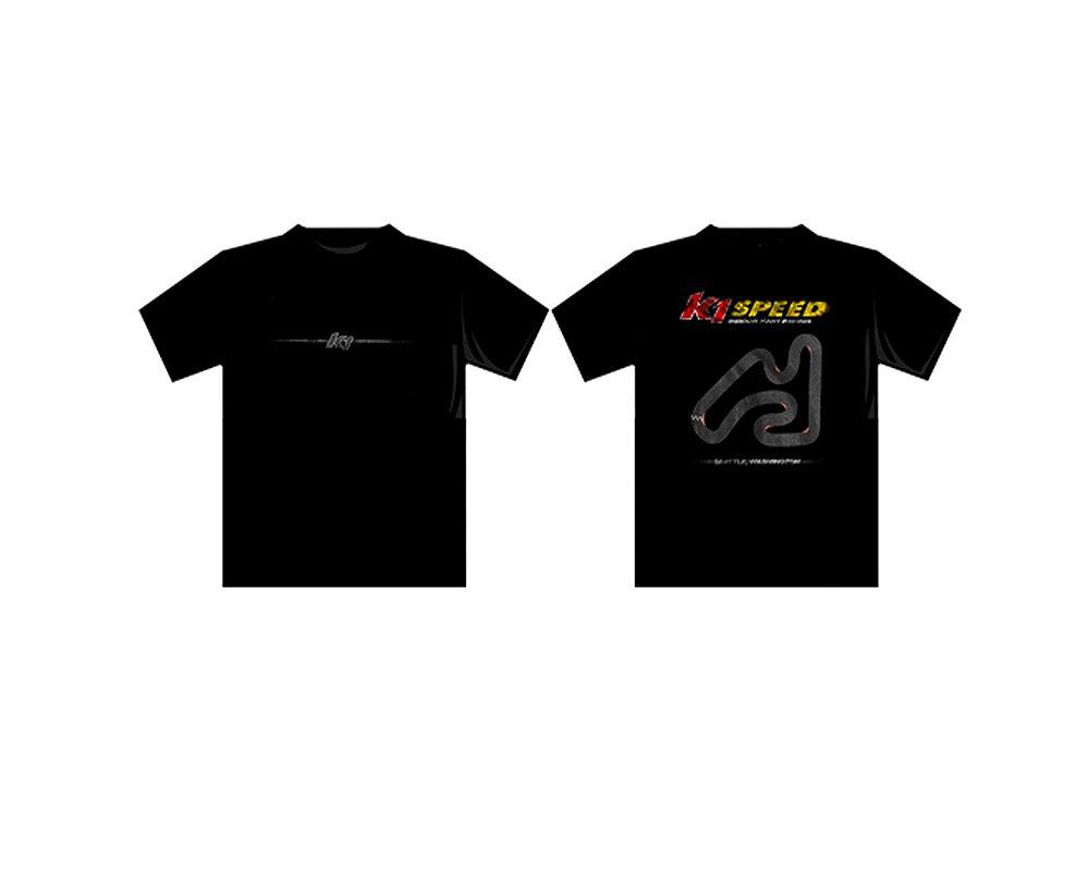 K1 Race Gear 90095417 Black Small Seattle Souvenir T-Shirt
