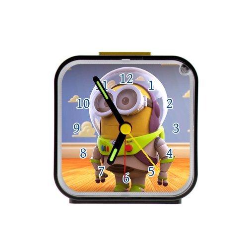 G-Store Minions Buzz Lightyear Custom Alarm Clock as a Nice Gift (Buzz Lightyear Alarm Clock)