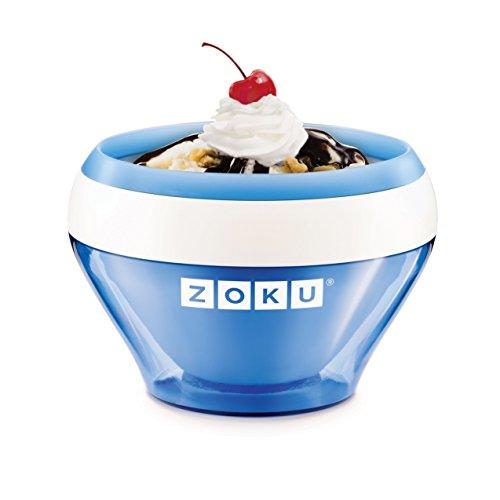 Zoku Blue Ice Cream Maker, Instant Ice Cream Maker