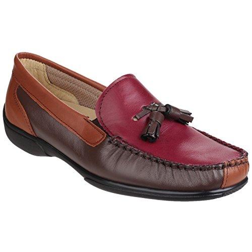 Cotswold Chestnut Womens Shoes Biddlestone Cotswold Ladies Biddlestone Wine Moccasin Tan d0gqv0