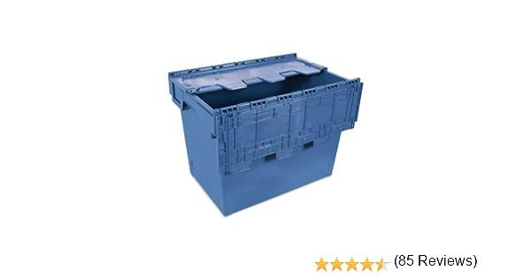 Tayg 6444-T Euro-caja con tapa para almacén y transporte, 600 x ...