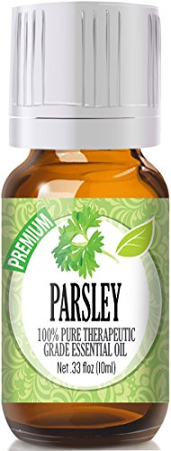 Parsley Essential Oil (Parsley 100% Pure, Best Therapeutic Grade Essential Oil - 10ml)