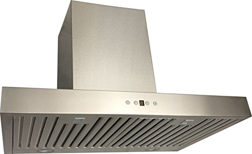 67 Single Exhaust (Cycene 30 Inch Wall-Mounted Stainless Steel Range Hood w/ Baffle Filter @ 600CFM - CY-RH198Z-30E)