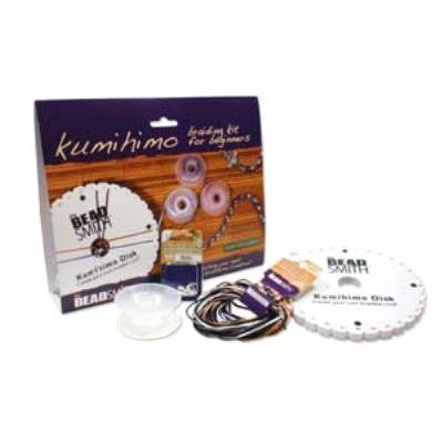 Kumihimo Braiding Kit for Beginners By the Beadsmith Easy to Learn, Kit Includes Everthing You Need to Make Braided Jewelry