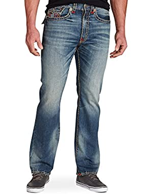 Ricky Super T Relaxed Straight Jeans True Illusion Wash