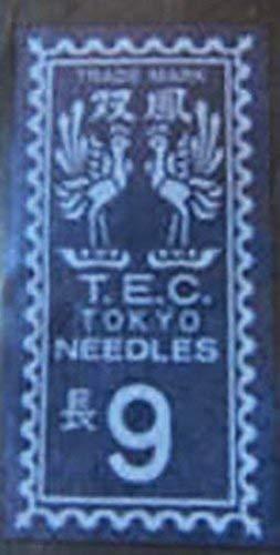 Japanese Sewing Notions - Japanese TEC Tokyo Hand Sewing Needles No. 9 - Small, Very Fine & Sharp by Shibori Dragon