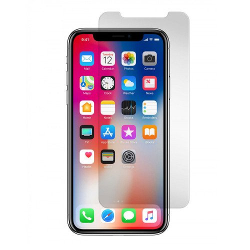 Gadget Guard Black Ice Edition Tempered Glass Screen Guard for Apple iPhone X - Clear