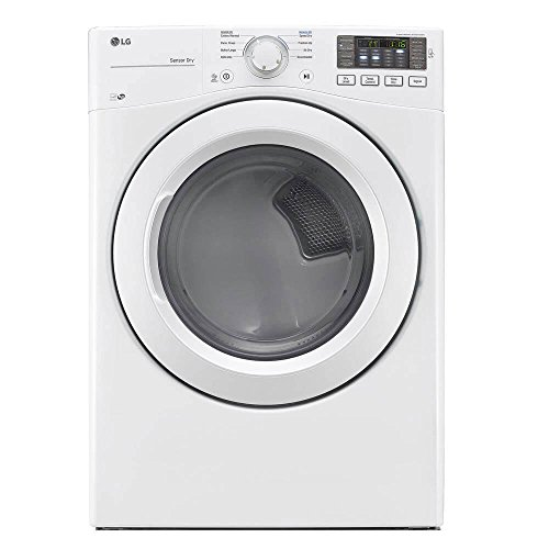 LG DLE3180W 7.4 Cu. Ft. White Electric Dryer