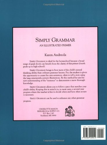 Simply Grammar: An Illustrated Primer by Brand: Charlotte Mason Research n Supply Company