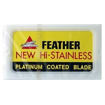 Cuchilla de afeitar pluma fábrica de acero inoxidable de seguridad de doble filo navaja