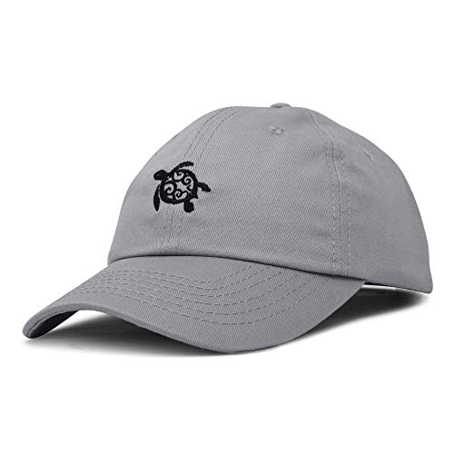 DALIX Turtle Hat Nature Womens Baseball Cap in Gray