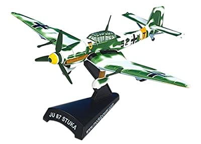 Junkers Ju-87D8 Stuka Dive Bomber Aircraft Built-Up Die Cast 1-110 Model Power