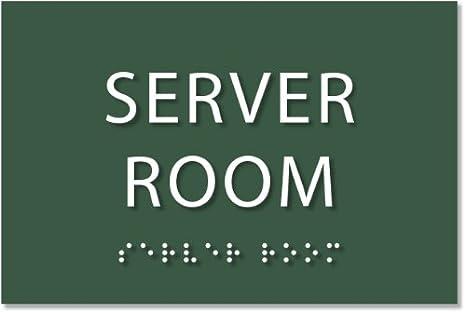 Amazon.com: Servidor habitación señal – ada cartel. 6