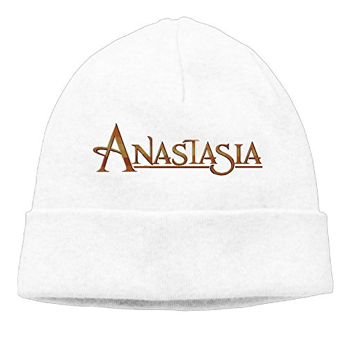 Price comparison product image Anastasia (musical) Logo Beanie Hat Skull Cap For Men Women (6 Colors) White