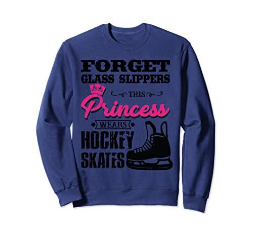 Forget Glass Slippers Princess Wears Hockey Skates