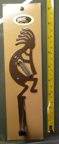 "Kokopelli Wall Hook - Approximately 8"""
