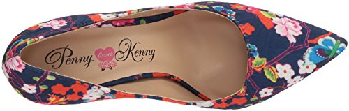 Penny Loves Kenny Womens Opus Sf Pump Blu Floreale
