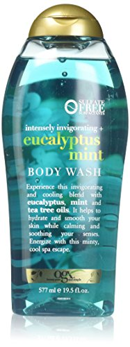 (OGX Intensely Invigorating + Eucalyptus Mint Body Wash, 19.5 Ounce)