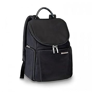 Briggs Riley Sympatico Small U Zip Backpack, Onyx