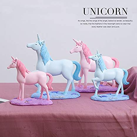 Amazon.com: mqlerry Office Gifts Desktop Unicorn Ornaments ...