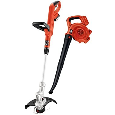 BLACK+DECKER LCC300 20V MAX Lithium Ion String Trimmer and Sweeper Combo Kit