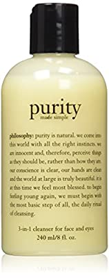 Philosophy Purity Made Simple 3 in 1 Cleanser for Face & Eyes, 8 oz. from Philosophy