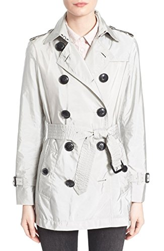 Burberry Brit Kerringdale Belted Trench Coat, Size 4