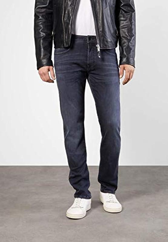 MAC Jeans Męskie spodnie MACFLEXX MACFLEXX niebiesko-średnie: Odzież