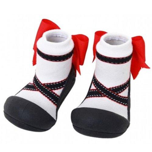 Attipas - Zapatos primeros pasos para niña negro negro 21.5 negro