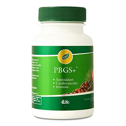 4life PBGS Antioxidant Combination of Pinebark & Grapeseed Extracts 120 Tablets by 4life