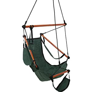 Castaway Swing Chair, Green