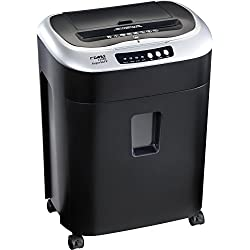 Dahle PaperSAFE 22080 Auto-Feed Paper Shredder, Oil Free, 80 Sheet Tray, Security Level P-4, Shreds CDs, Credit Cards & Paper Clips