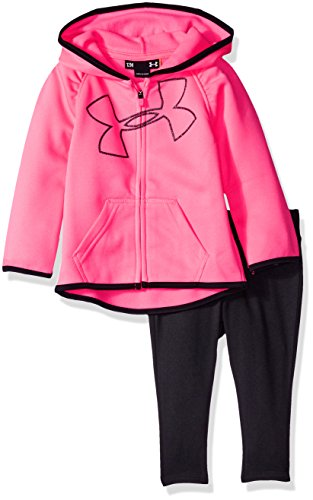 Under Armour Baby' Active Hoodie and Legging Set, Pink Pu...